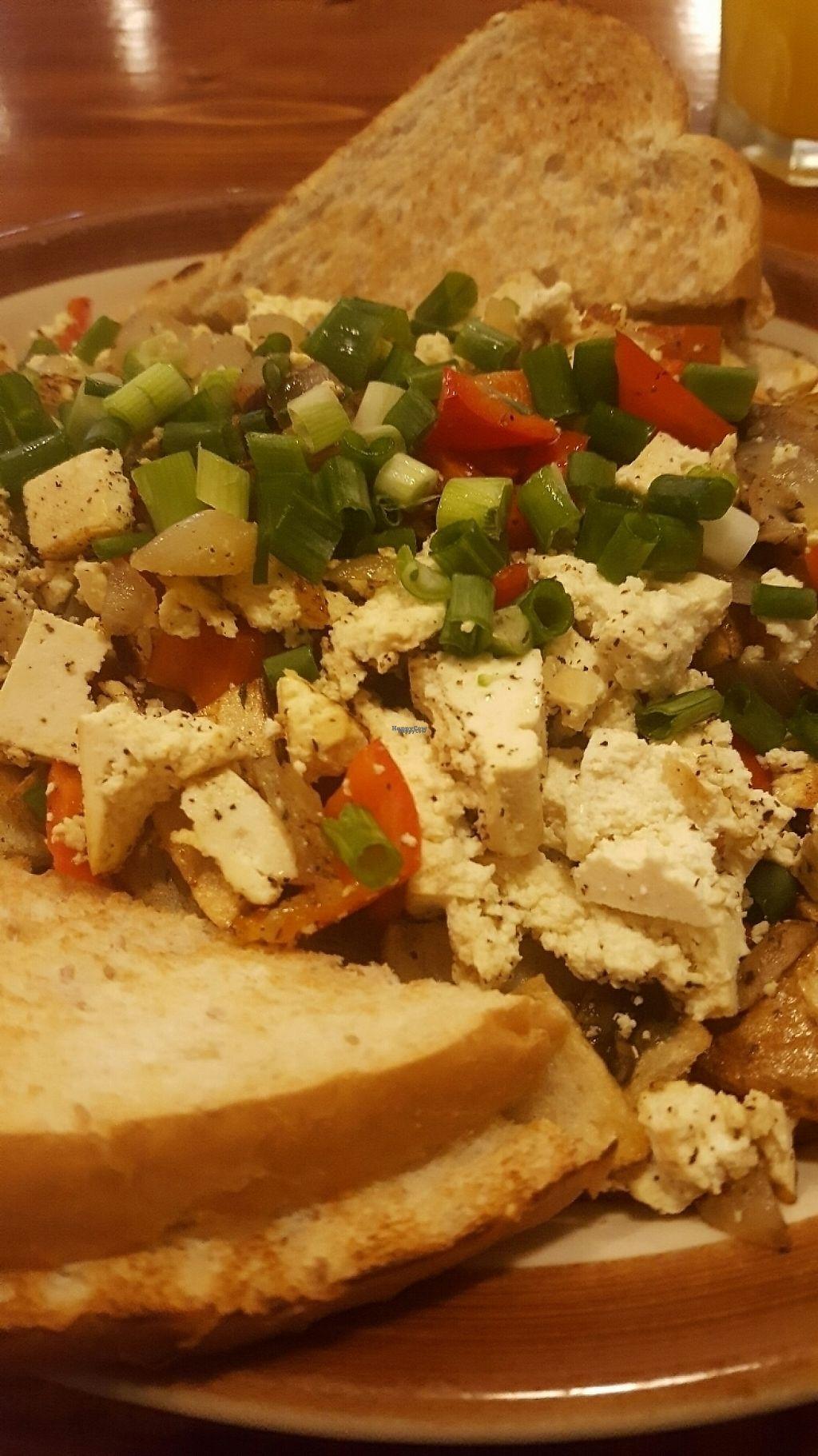 "Photo of Hunter Gatherer Vegetarian Diner  by <a href=""/members/profile/VeganKateMA"">VeganKateMA</a> <br/>tofu scramble (vegan)  <br/> April 30, 2017  - <a href='/contact/abuse/image/80201/254196'>Report</a>"