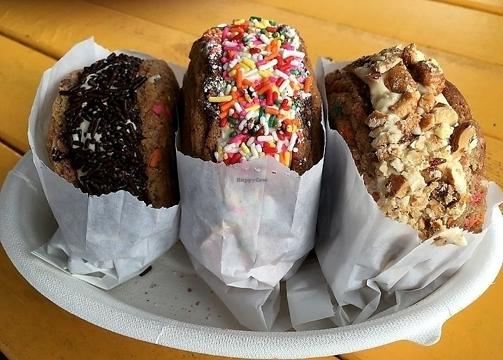 """Photo of Little Giant Ice Cream  by <a href=""""/members/profile/MelodyVeganJoy"""">MelodyVeganJoy</a> <br/>Ice cream sandwiches <br/> March 25, 2018  - <a href='/contact/abuse/image/80219/376096'>Report</a>"""