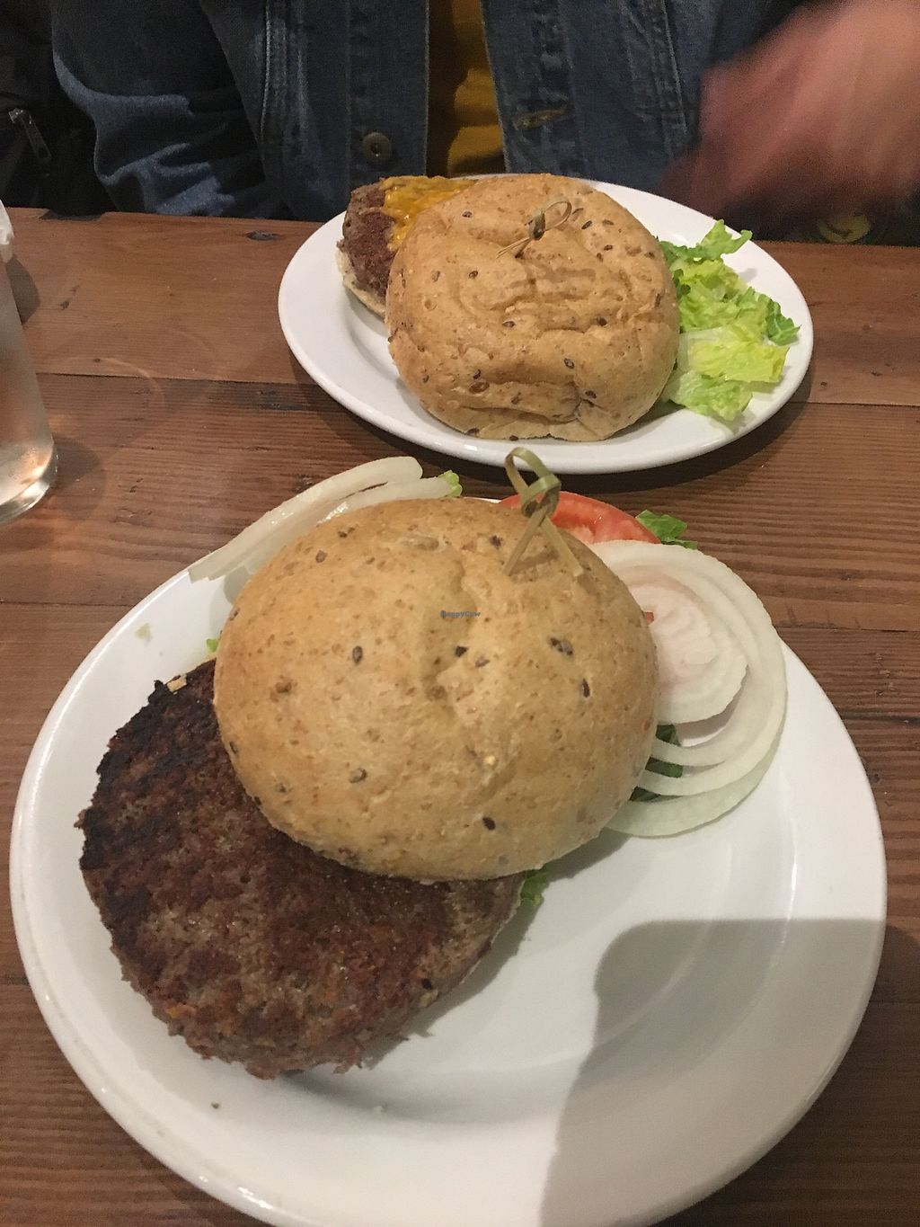 "Photo of Legume Kitchen & Bar  by <a href=""/members/profile/mem2024"">mem2024</a> <br/>New Spring menu item - the impossible burger!!! <br/> April 4, 2018  - <a href='/contact/abuse/image/80224/380498'>Report</a>"