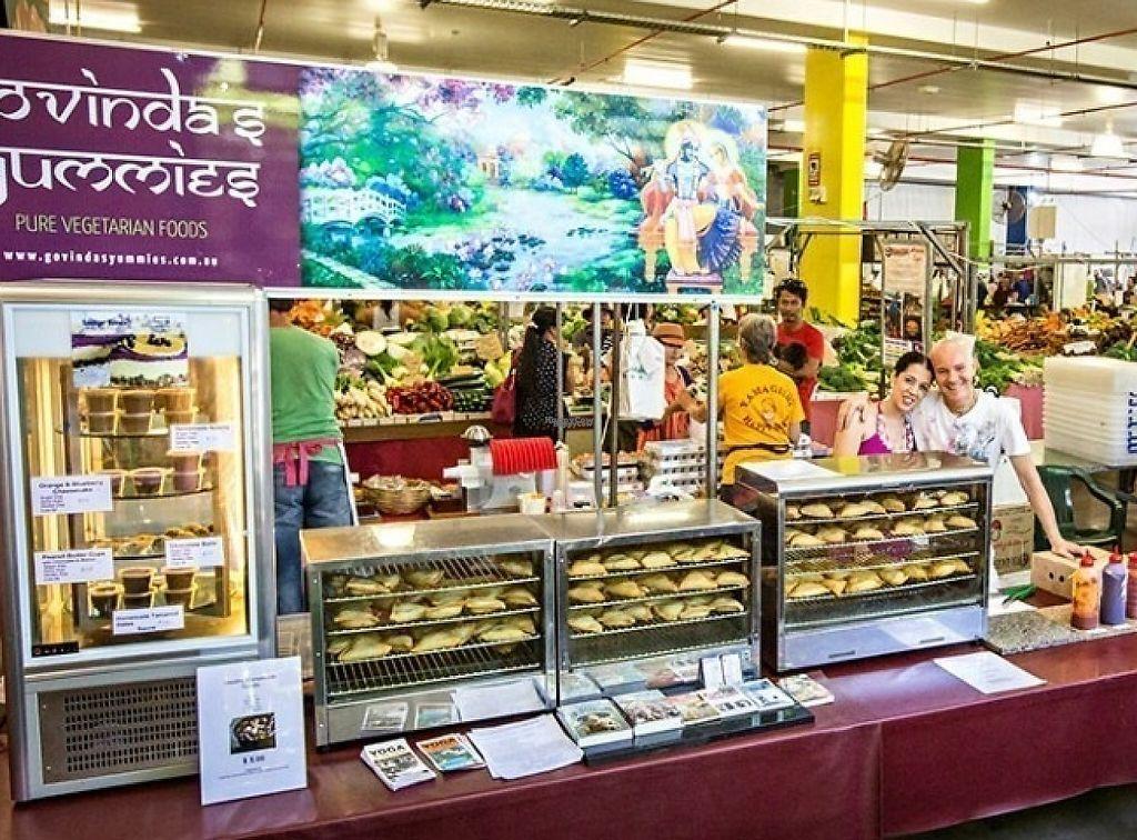 "Photo of Govinda's Yummies - Food Stall  by <a href=""/members/profile/Svetamanjari"">Svetamanjari</a> <br/>Mixed veggie and spinach- cheese samosas <br/> September 17, 2016  - <a href='/contact/abuse/image/80231/254217'>Report</a>"