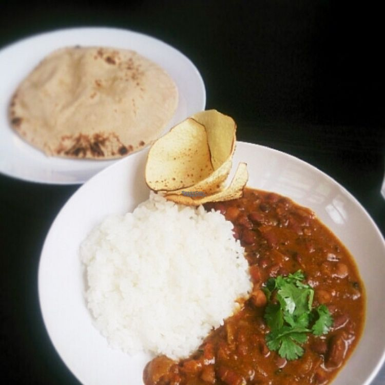 """Photo of Doon Shokudo Indoyama  by <a href=""""/members/profile/Indoyama"""">Indoyama</a> <br/>beans curry with rice and whole wheat flour chapati @780yen <br/> September 27, 2016  - <a href='/contact/abuse/image/80251/178184'>Report</a>"""