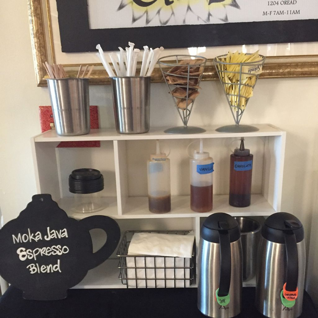 "Photo of The Breakfast Club  by <a href=""/members/profile/madznemo"">madznemo</a> <br/>coffee bar including specialty syrups ! <br/> January 27, 2017  - <a href='/contact/abuse/image/80253/217928'>Report</a>"