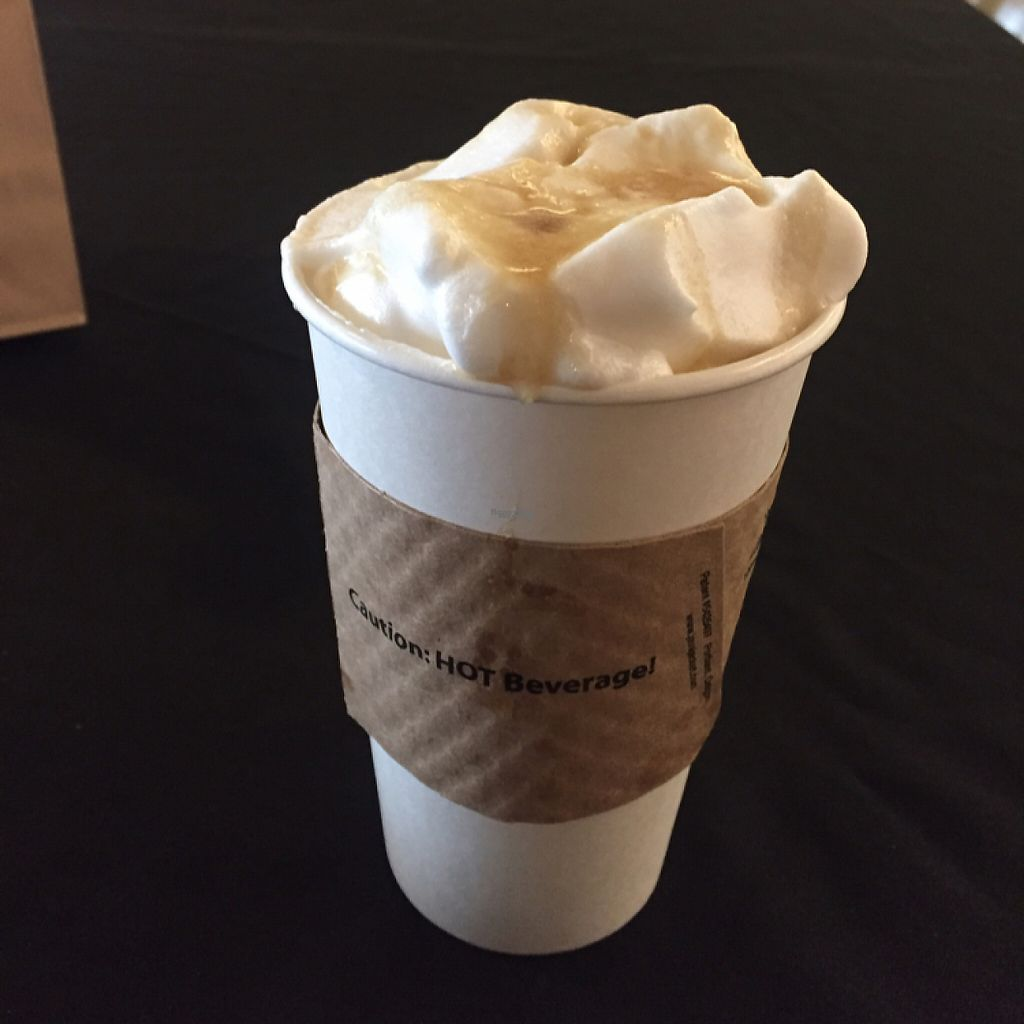 "Photo of The Breakfast Club  by <a href=""/members/profile/madznemo"">madznemo</a> <br/>latte w/ aquafaba whipped cream & caramel sauce ! <br/> February 24, 2017  - <a href='/contact/abuse/image/80253/229963'>Report</a>"