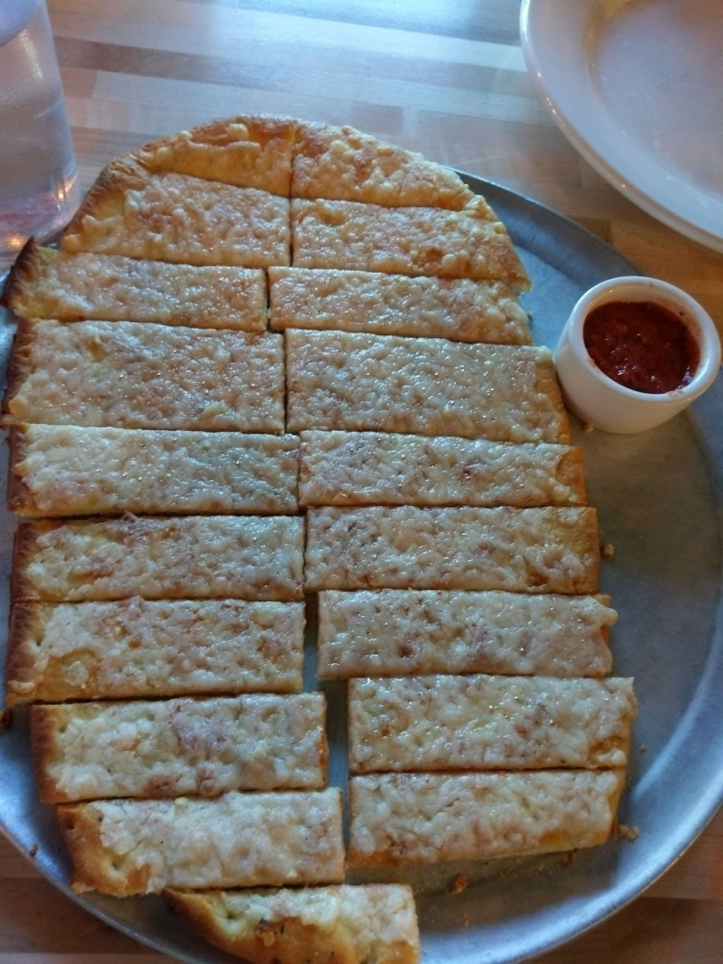 "Photo of Bend PIzza Kitchen  by <a href=""/members/profile/JessicaFullerGall"">JessicaFullerGall</a> <br/>Vegan garlic  cheese breadsticks <br/> April 8, 2017  - <a href='/contact/abuse/image/80256/245810'>Report</a>"