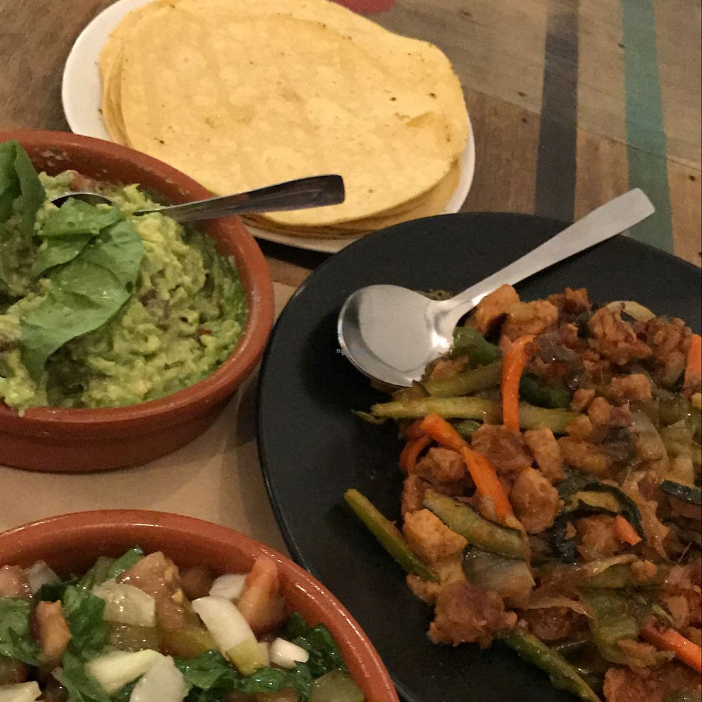 "Photo of El Perro Gamberro  by <a href=""/members/profile/Andoolblu"">Andoolblu</a> <br/>Vegan tacos  <br/> November 10, 2016  - <a href='/contact/abuse/image/80267/188193'>Report</a>"