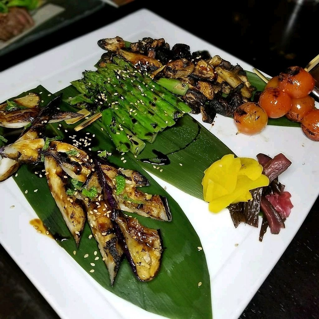 "Photo of SushiSamba  by <a href=""/members/profile/JennyAKG"">JennyAKG</a> <br/>Robata veggies  <br/> February 25, 2018  - <a href='/contact/abuse/image/80283/363791'>Report</a>"