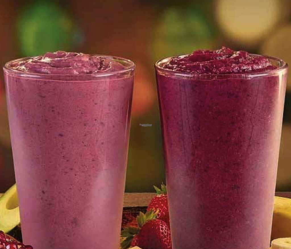"Photo of Tropical Smoothie Cafe  by <a href=""/members/profile/community"">community</a> <br/>berry smoothies  <br/> February 12, 2017  - <a href='/contact/abuse/image/80292/226121'>Report</a>"