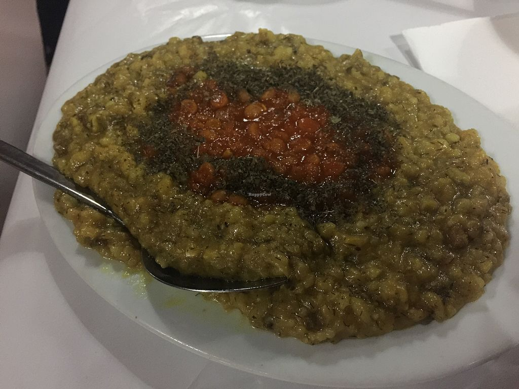 "Photo of Afghan Gallery Restaurant  by <a href=""/members/profile/Tiggy"">Tiggy</a> <br/>Mung bean and rice <br/> August 29, 2017  - <a href='/contact/abuse/image/80307/298818'>Report</a>"