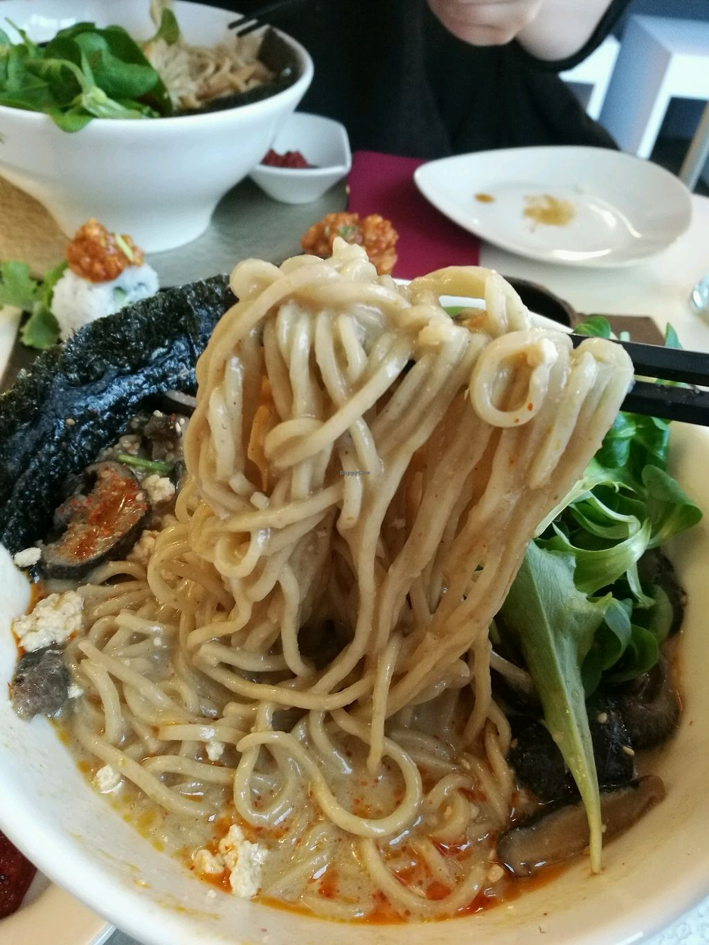 "Photo of Tokumaru   by <a href=""/members/profile/helsinkigoesvegan"">helsinkigoesvegan</a> <br/>tantanmen ramen <br/> February 17, 2018  - <a href='/contact/abuse/image/80315/360332'>Report</a>"