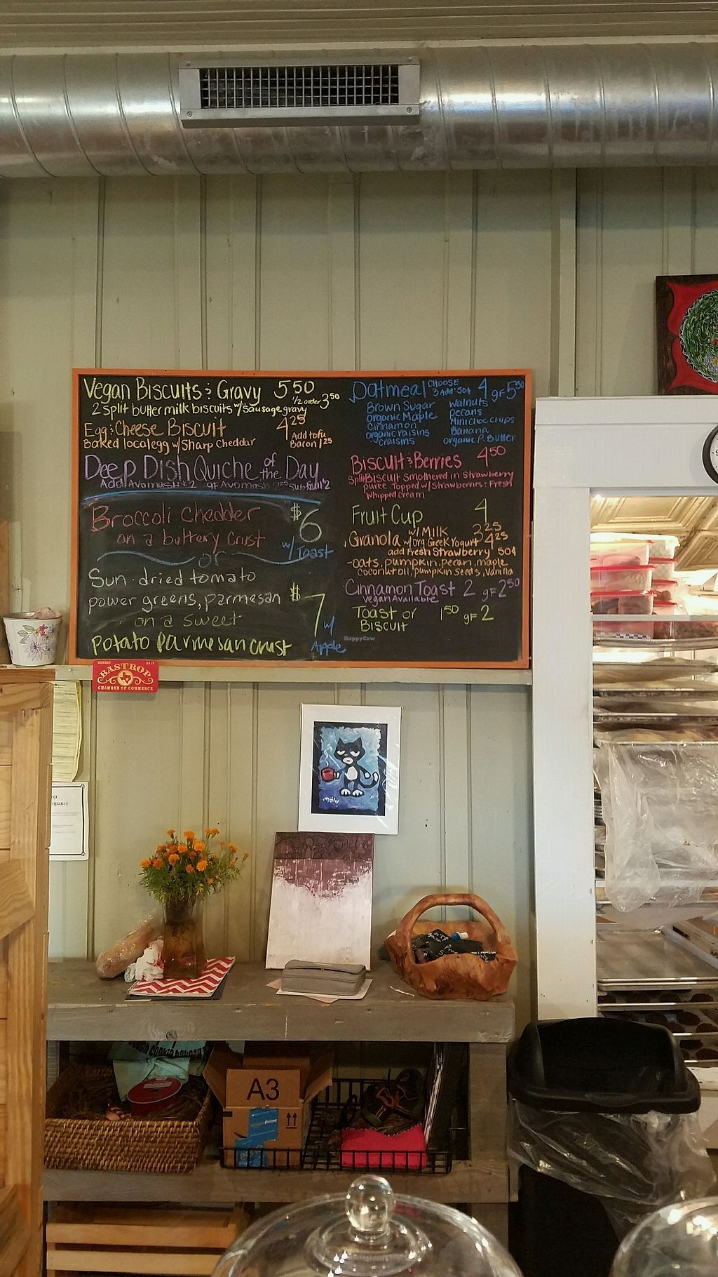 """Photo of Tough Cookie Bakery  by <a href=""""/members/profile/NTaiResting"""">NTaiResting</a> <br/>Menu board 1 of 3 <br/> December 20, 2017  - <a href='/contact/abuse/image/80319/337649'>Report</a>"""