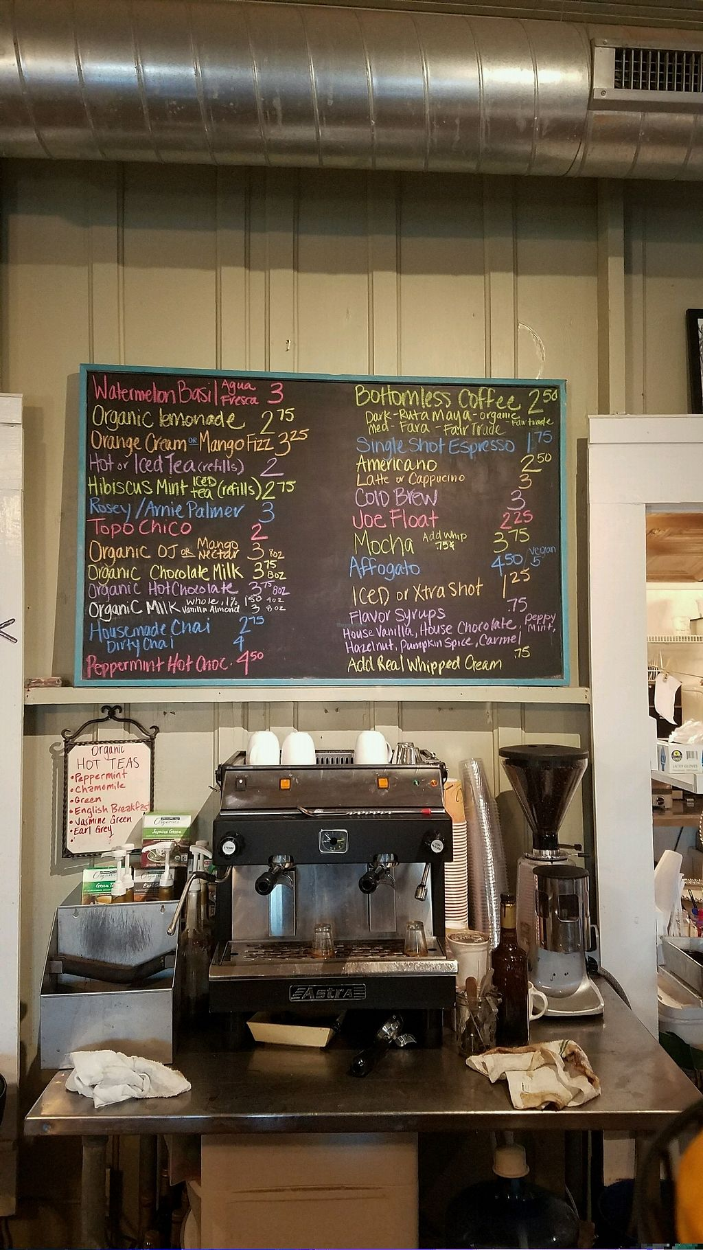 """Photo of Tough Cookie Bakery  by <a href=""""/members/profile/NTaiResting"""">NTaiResting</a> <br/>Menu board 2 of 3 <br/> December 20, 2017  - <a href='/contact/abuse/image/80319/337650'>Report</a>"""