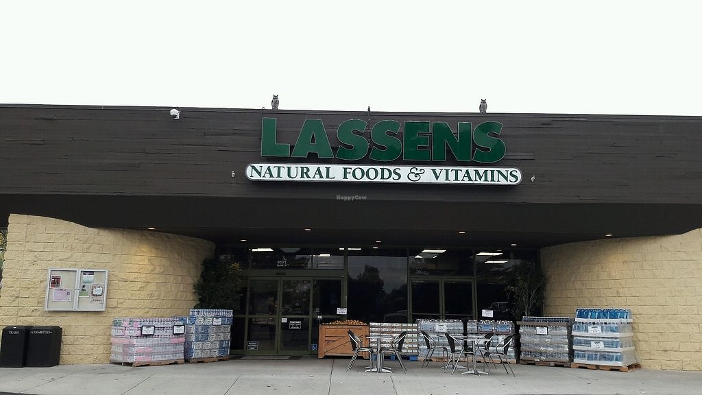 "Photo of Lassens Natural Foods & Vitamins  by <a href=""/members/profile/piffelina"">piffelina</a> <br/>Store font <br/> January 11, 2018  - <a href='/contact/abuse/image/8031/345277'>Report</a>"