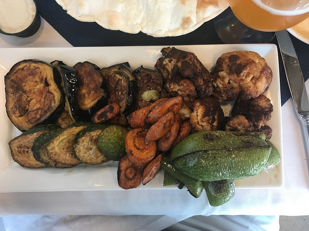 """Photo of Daddy's Place  by <a href=""""/members/profile/Spetri01"""">Spetri01</a> <br/>Makali entree--fried eggplant, peppers, zucchini, carrots and cauliflower  <br/> August 4, 2017  - <a href='/contact/abuse/image/80341/288818'>Report</a>"""