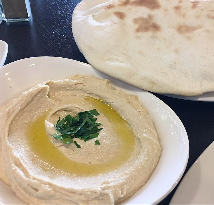 """Photo of Daddy's Place  by <a href=""""/members/profile/Sue0327"""">Sue0327</a> <br/>hummus and bread <br/> September 9, 2017  - <a href='/contact/abuse/image/80341/302618'>Report</a>"""