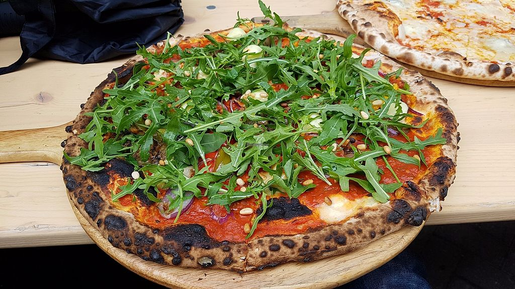 """Photo of Dough Pizzeria  by <a href=""""/members/profile/JonJon"""">JonJon</a> <br/>Vegan affairs <br/> July 1, 2017  - <a href='/contact/abuse/image/80361/275606'>Report</a>"""