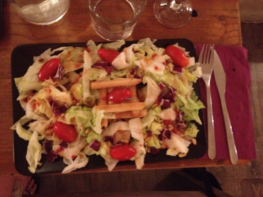 """Photo of Coco Boheme  by <a href=""""/members/profile/hellothereimhere"""">hellothereimhere</a> <br/>Vegan salad <br/> June 25, 2017  - <a href='/contact/abuse/image/80385/273321'>Report</a>"""