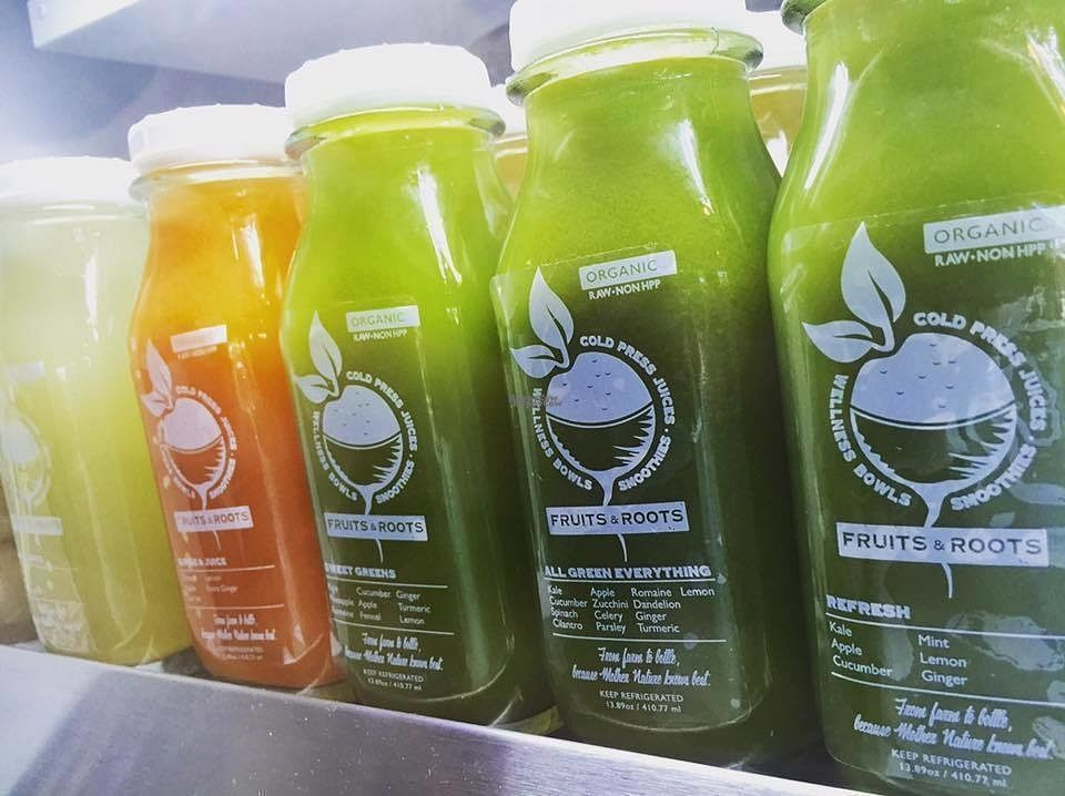 """Photo of Fruits & Roots Juice Bar  by <a href=""""/members/profile/community"""">community</a> <br/>fresh juices  <br/> September 30, 2016  - <a href='/contact/abuse/image/80394/178683'>Report</a>"""