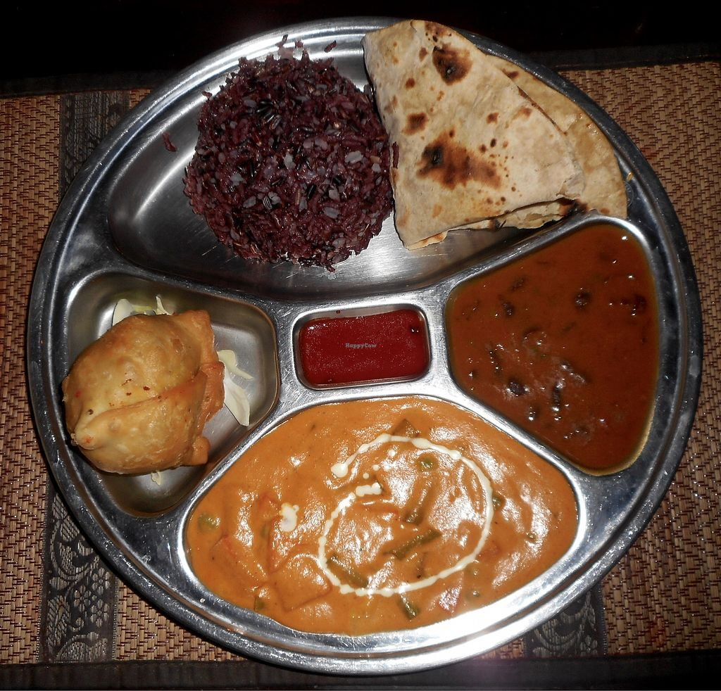 "Photo of Shalimar  by <a href=""/members/profile/Rollingstone"">Rollingstone</a> <br/>Veg Thali - delicious! <br/> September 8, 2017  - <a href='/contact/abuse/image/80399/302060'>Report</a>"
