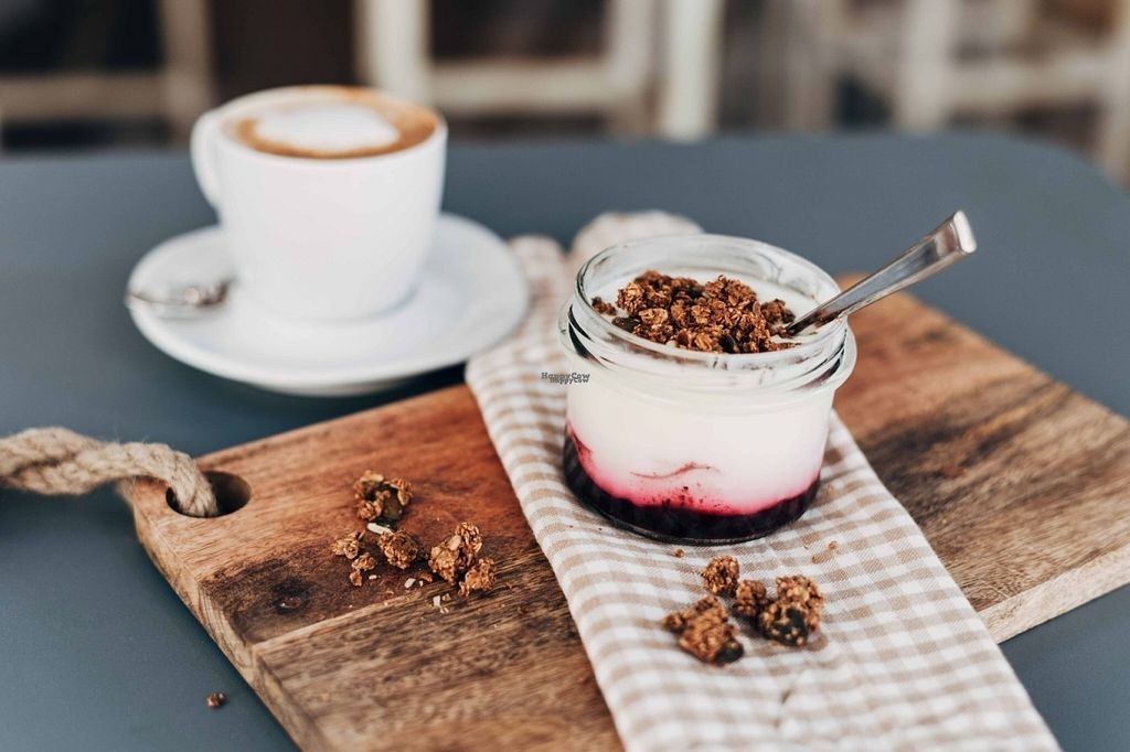 """Photo of Gartnerei  by <a href=""""/members/profile/G%C3%A4rtnerei"""">Gärtnerei</a> <br/>Yoghurt with Berries and vegan Granola <br/> September 22, 2016  - <a href='/contact/abuse/image/80409/177386'>Report</a>"""