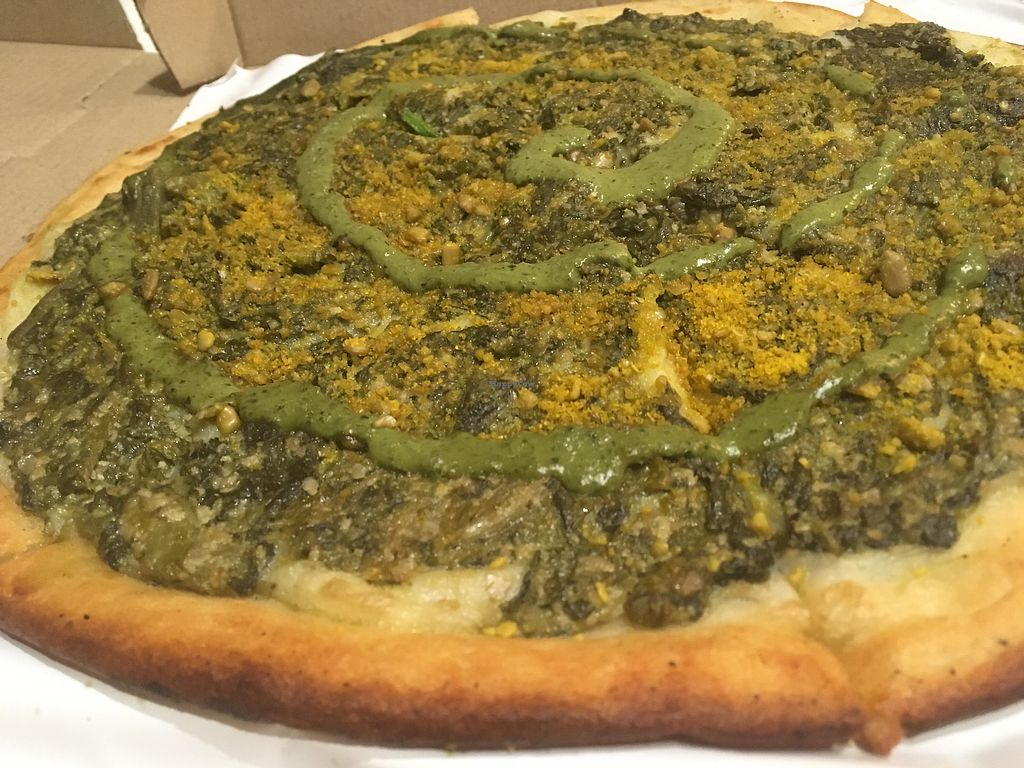 "Photo of Pizza Vegana - Recoleta  by <a href=""/members/profile/milos99"">milos99</a> <br/>Pizza verdolaga <br/> November 6, 2017  - <a href='/contact/abuse/image/80421/322375'>Report</a>"