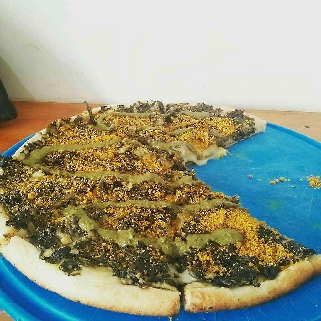 """Photo of Pizza Vegana - Recoleta  by <a href=""""/members/profile/FHoeppke"""">FHoeppke</a> <br/>nomnom <br/> February 6, 2018  - <a href='/contact/abuse/image/80421/355768'>Report</a>"""
