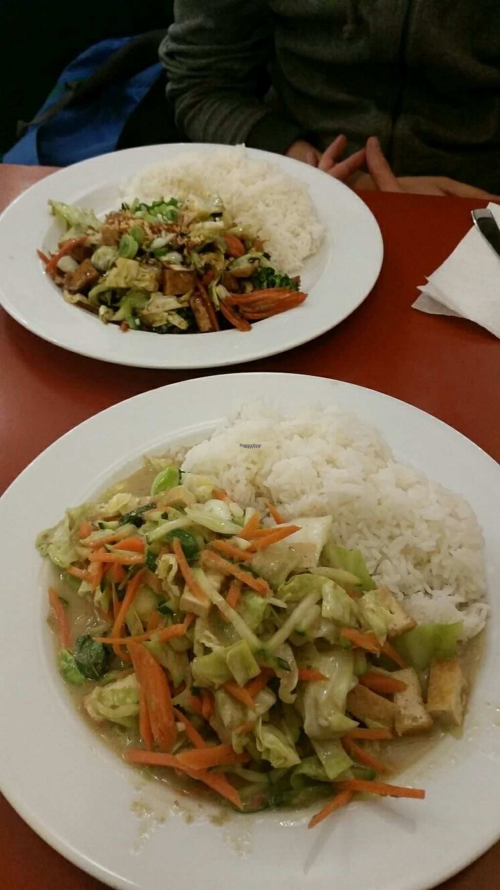 """Photo of Tong Thai  by <a href=""""/members/profile/uschiverena"""">uschiverena</a> <br/>chop suey and Green curry   <br/> April 11, 2017  - <a href='/contact/abuse/image/80426/247142'>Report</a>"""