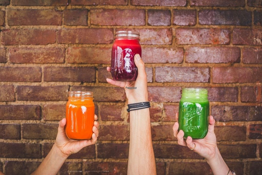 """Photo of CLOSED: Nourish Juice Bar  by <a href=""""/members/profile/nourishjuice"""">nourishjuice</a> <br/>Organic Juice <br/> September 21, 2016  - <a href='/contact/abuse/image/80443/177202'>Report</a>"""