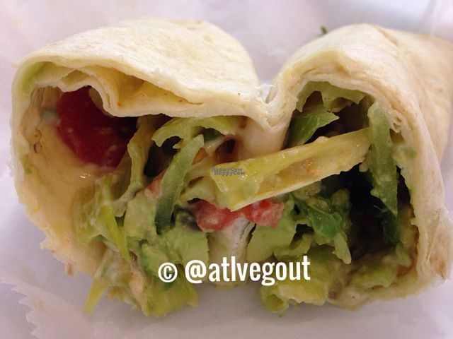 """Photo of Cool Breeze Smoothie & Juice Bar  by <a href=""""/members/profile/calamaestra"""">calamaestra</a> <br/>spicy avocado wrap  <br/> October 19, 2016  - <a href='/contact/abuse/image/80446/182855'>Report</a>"""