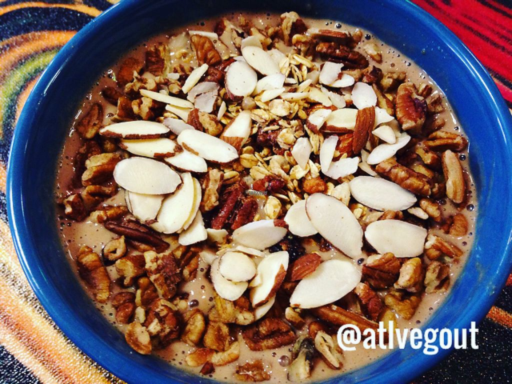 """Photo of Cool Breeze Smoothie & Juice Bar  by <a href=""""/members/profile/calamaestra"""">calamaestra</a> <br/>choco smoothie bowl  <br/> February 18, 2017  - <a href='/contact/abuse/image/80446/227947'>Report</a>"""