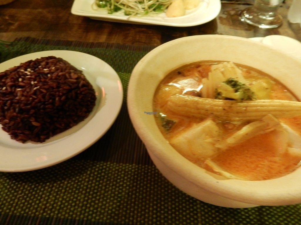 """Photo of CLOSED: Dragon & Phoenix  by <a href=""""/members/profile/LilacHippy"""">LilacHippy</a> <br/>Masaman curry and black rice <br/> November 3, 2016  - <a href='/contact/abuse/image/80466/186270'>Report</a>"""