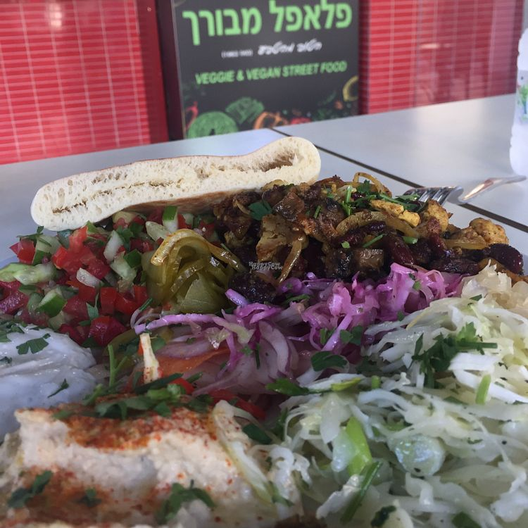 """Photo of Falafel Mevorach  by <a href=""""/members/profile/Oreng1976"""">Oreng1976</a> <br/>delicious vegan Shawarma  <br/> October 3, 2016  - <a href='/contact/abuse/image/80470/179513'>Report</a>"""