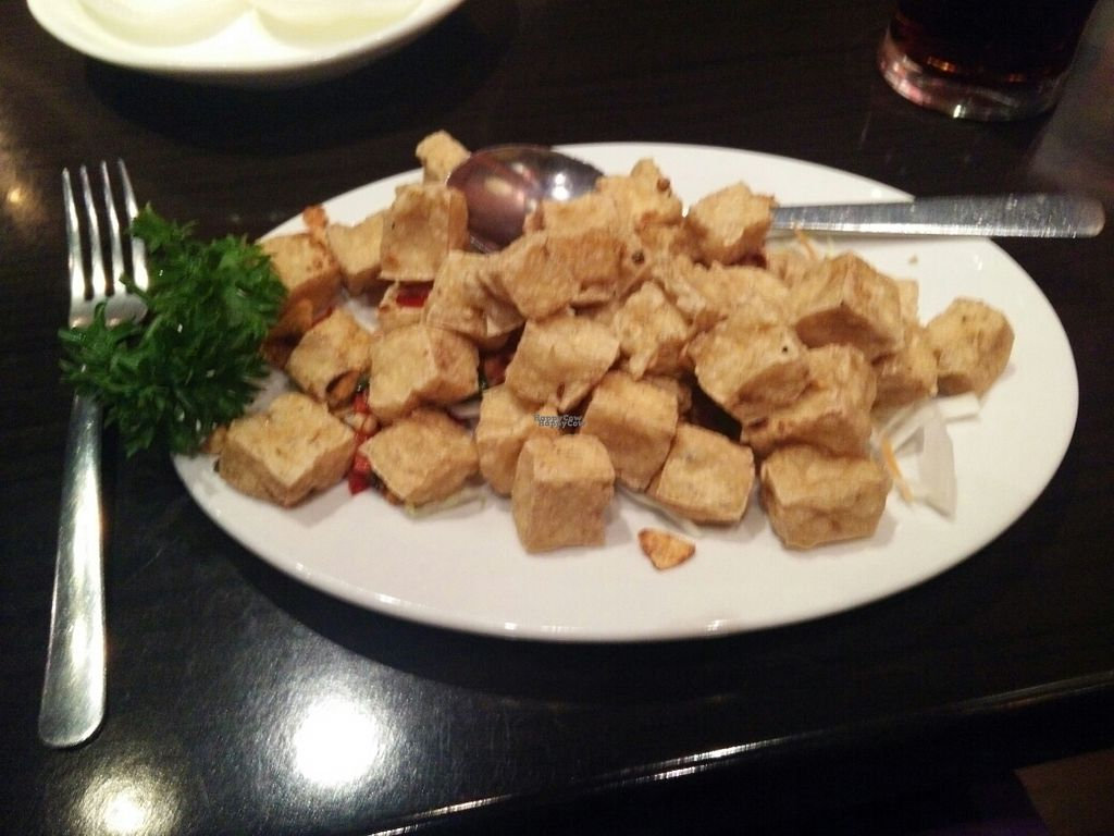 """Photo of Tao Peking  by <a href=""""/members/profile/Meaks"""">Meaks</a> <br/>Pepper Beancurd with Garlic and Chilli <br/> September 23, 2016  - <a href='/contact/abuse/image/80505/177571'>Report</a>"""