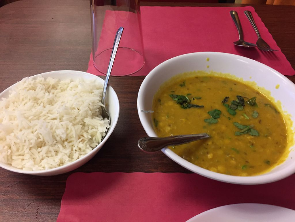 """Photo of Curry Paradise  by <a href=""""/members/profile/LinnDaugherty"""">LinnDaugherty</a> <br/>comes with plenty of rice but will give more if you ask <br/> February 11, 2017  - <a href='/contact/abuse/image/80506/225119'>Report</a>"""