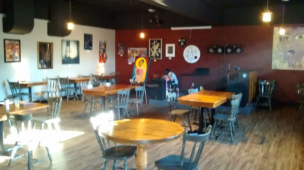 """Photo of Black Sheep Lounge  by <a href=""""/members/profile/Pat52000"""">Pat52000</a> <br/>Cafe setting, local artist work on walls for sale, stage for events <br/> September 24, 2016  - <a href='/contact/abuse/image/80509/177676'>Report</a>"""