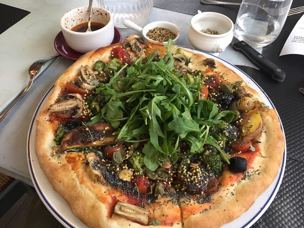 """Photo of CLOSED: Zampa Di Campagna  by <a href=""""/members/profile/JulieValet"""">JulieValet</a> <br/>pizza Mama Mia!! <br/> April 26, 2017  - <a href='/contact/abuse/image/80516/252700'>Report</a>"""