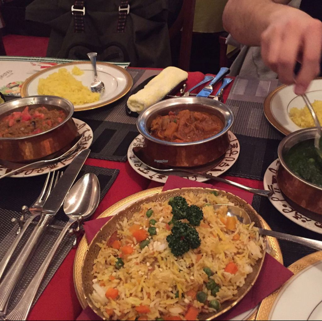 "Photo of Indian Nepali Restaurant Himalaya  by <a href=""/members/profile/SojaEichhoernchen"">SojaEichhoernchen</a> <br/>vegan options <br/> March 26, 2017  - <a href='/contact/abuse/image/80522/241070'>Report</a>"