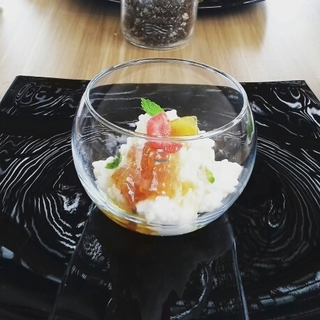 """Photo of Mako Vegan and Veggie Restaurant  by <a href=""""/members/profile/mademansandro"""">mademansandro</a> <br/>arroz con leche  <br/> February 18, 2017  - <a href='/contact/abuse/image/80535/227970'>Report</a>"""