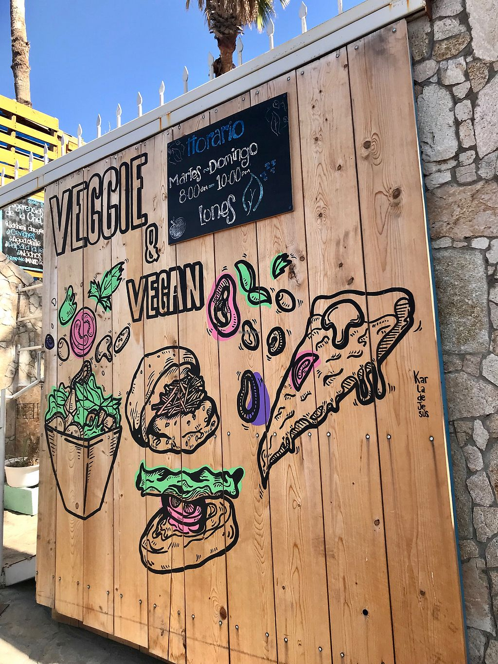 """Photo of Mako Vegan and Veggie Restaurant  by <a href=""""/members/profile/kkeegan5"""">kkeegan5</a> <br/>Entrance <br/> December 8, 2017  - <a href='/contact/abuse/image/80535/333511'>Report</a>"""