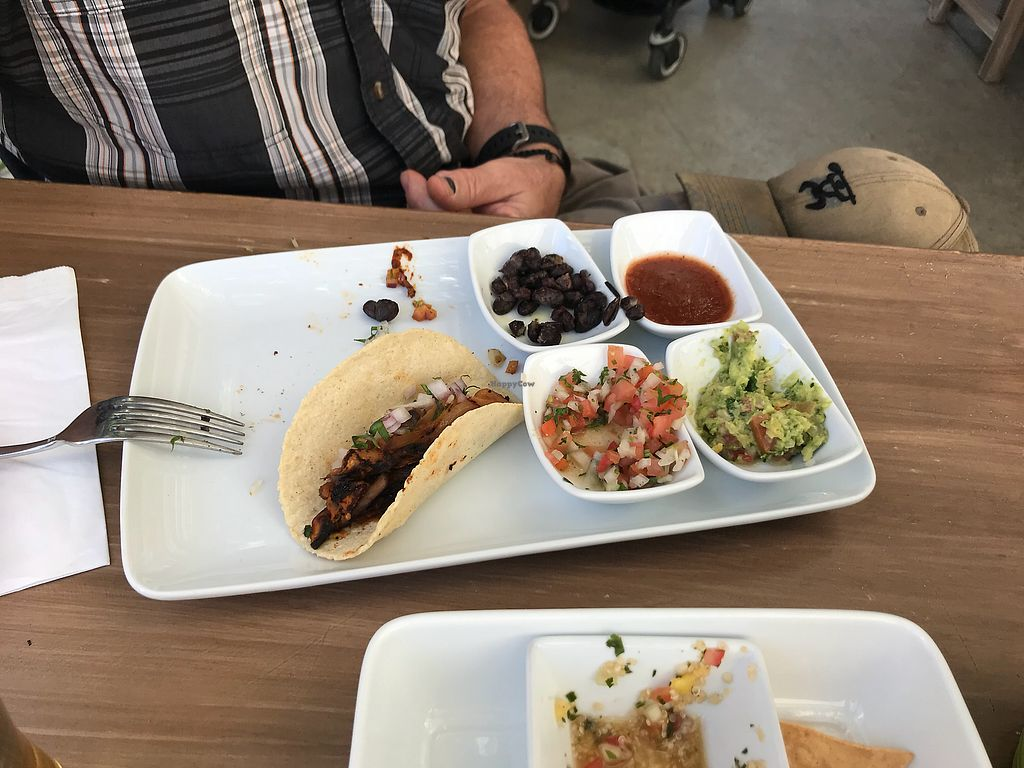 """Photo of Mako Vegan and Veggie Restaurant  by <a href=""""/members/profile/kkeegan5"""">kkeegan5</a> <br/>Taco lunch. There were 3 tacos in the meal <br/> December 8, 2017  - <a href='/contact/abuse/image/80535/333513'>Report</a>"""