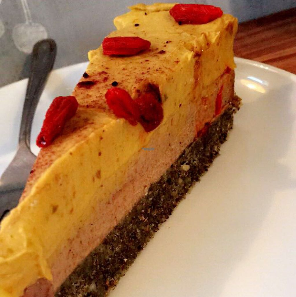 "Photo of Greenfoody  by <a href=""/members/profile/FitVeganFoodie"">FitVeganFoodie</a> <br/>mango raw cake  <br/> December 13, 2016  - <a href='/contact/abuse/image/80537/200872'>Report</a>"