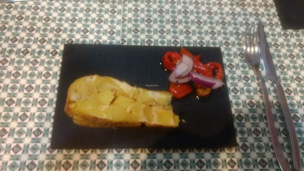 "Photo of Toro Tapas  by <a href=""/members/profile/VeggiKitty"">VeggiKitty</a> <br/>Tortilla (Spanish omlette with potatoes) <br/> October 17, 2017  - <a href='/contact/abuse/image/80551/316038'>Report</a>"