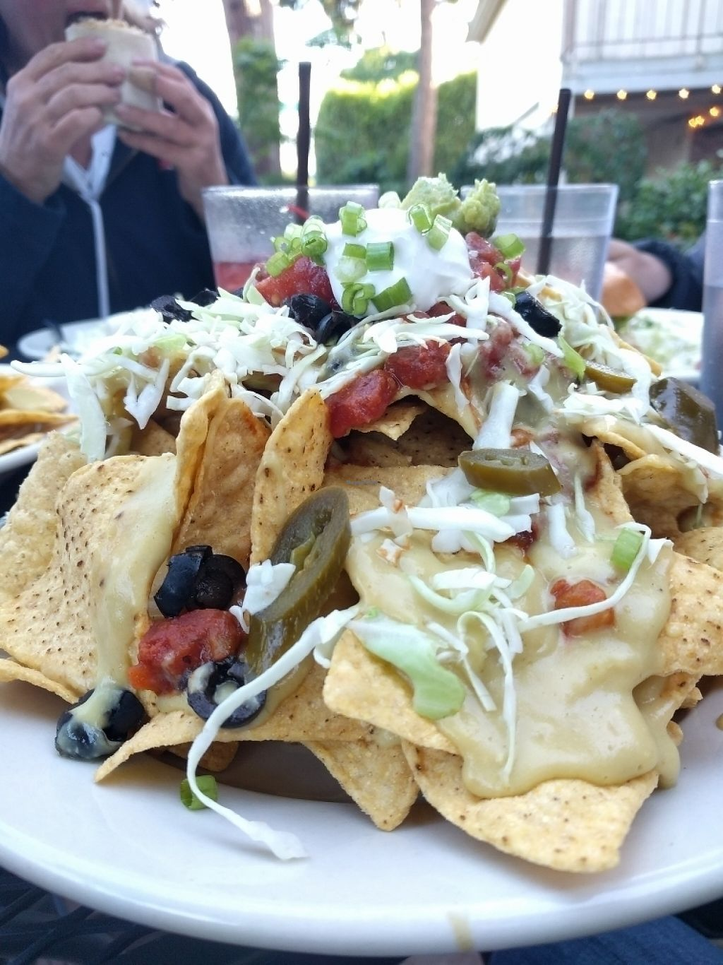 """Photo of The Space  by <a href=""""/members/profile/The%20Hungry%20Vegan"""">The Hungry Vegan</a> <br/>Loaded Nachos <br/> May 29, 2017  - <a href='/contact/abuse/image/80552/263708'>Report</a>"""