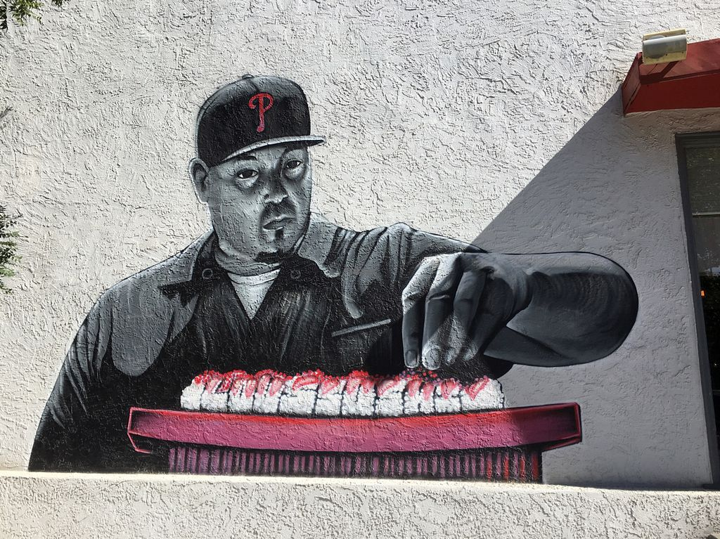 """Photo of Lou's Sushi  by <a href=""""/members/profile/Beryl"""">Beryl</a> <br/>Sacramento loves murals <br/> September 24, 2016  - <a href='/contact/abuse/image/80553/177757'>Report</a>"""