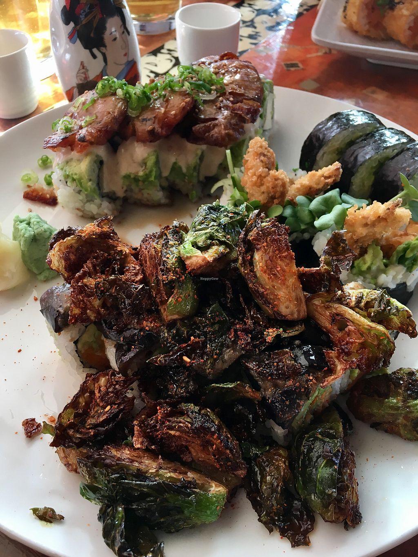 "Photo of Lou's Sushi  by <a href=""/members/profile/wawawombats"">wawawombats</a> <br/>Vegan Irishman  <br/> February 22, 2018  - <a href='/contact/abuse/image/80553/362552'>Report</a>"