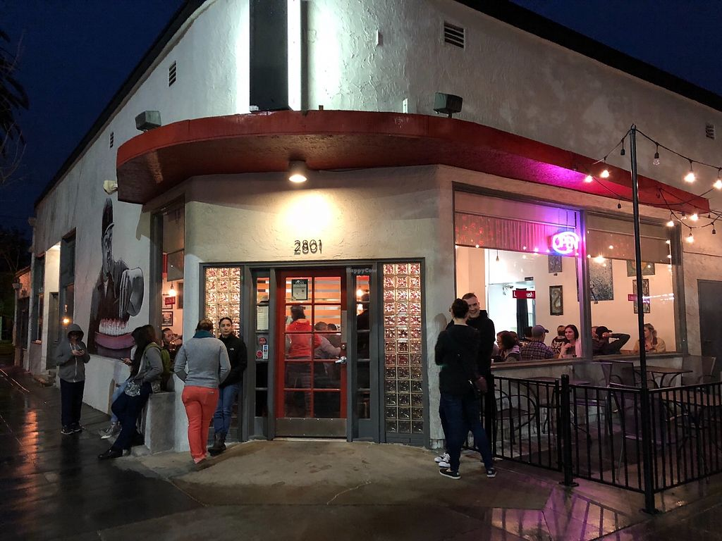 """Photo of Lou's Sushi  by <a href=""""/members/profile/User"""">User</a> <br/>Waiting for a table on P Street.  <br/> April 14, 2018  - <a href='/contact/abuse/image/80553/385905'>Report</a>"""