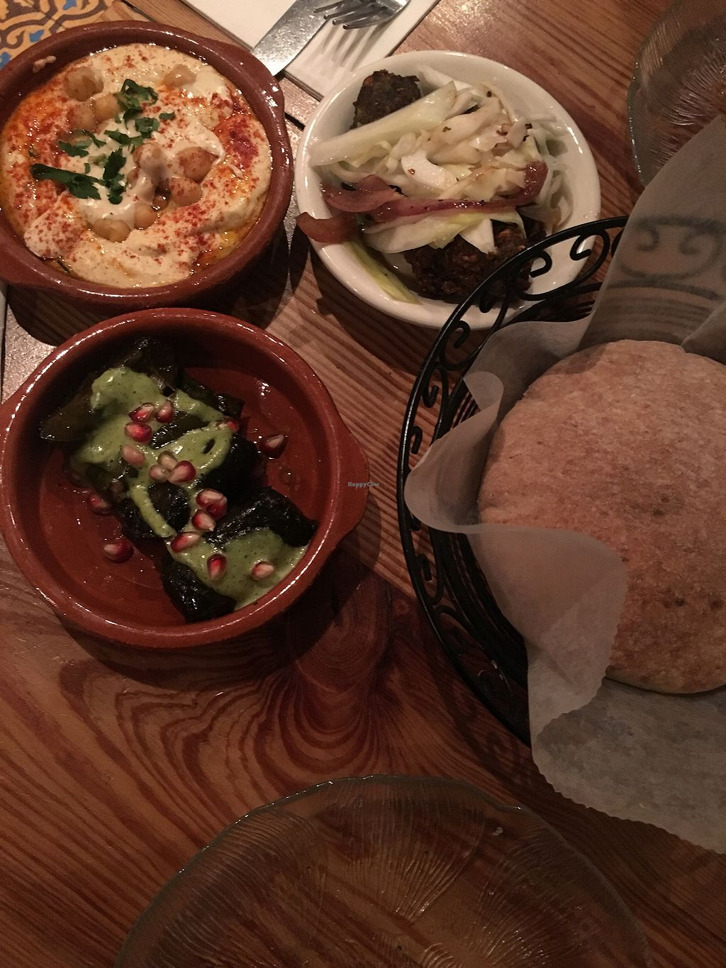 """Photo of Hummus Kitchen  by <a href=""""/members/profile/LauraZr"""">LauraZr</a> <br/>Hummus, falafel & dolmas <br/> November 5, 2017  - <a href='/contact/abuse/image/80555/322293'>Report</a>"""