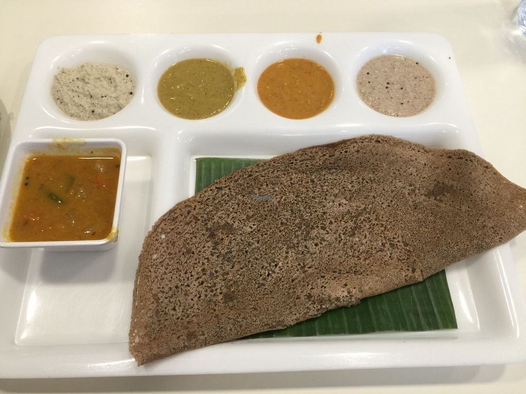 """Photo of Srivakula  by <a href=""""/members/profile/neilmadhvani"""">neilmadhvani</a> <br/>Ragi dosa made of finger millet  <br/> October 26, 2016  - <a href='/contact/abuse/image/80557/184465'>Report</a>"""