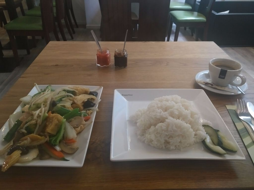 "Photo of De Kade  by <a href=""/members/profile/Ryecatcher"">Ryecatcher</a> <br/>Buddha's Delight - main dish with rice <br/> July 19, 2017  - <a href='/contact/abuse/image/80566/282230'>Report</a>"