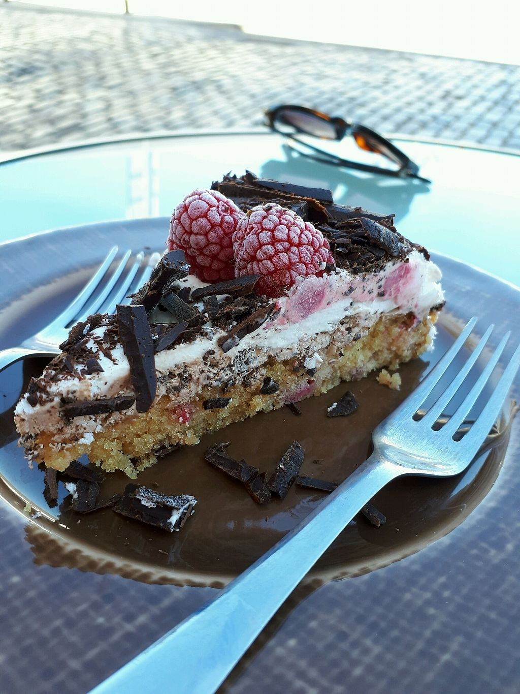"""Photo of Mandala  by <a href=""""/members/profile/KellyDean"""">KellyDean</a> <br/>chocolate raspberry cream cake <br/> October 6, 2017  - <a href='/contact/abuse/image/80570/312289'>Report</a>"""