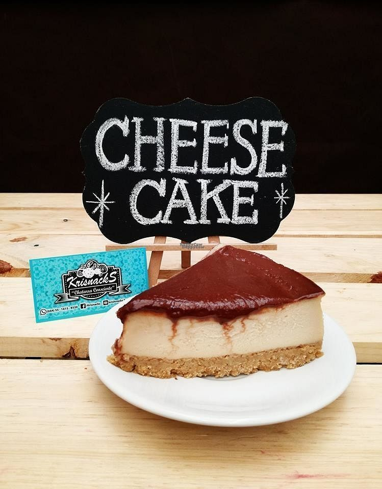 """Photo of Krisnacks  by <a href=""""/members/profile/community"""">community</a> <br/>vegan cheesecake  <br/> October 15, 2016  - <a href='/contact/abuse/image/80586/182127'>Report</a>"""